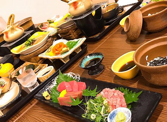 十津川郷土料理と紀州マグロの美味しいコラボプラン